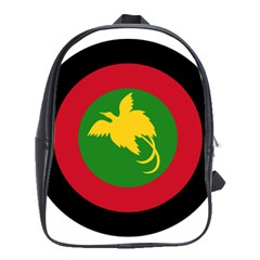 Roundel Of Papua New Guinea Air Operations Element School Bags (xl)