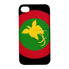 Roundel Of Papua New Guinea Air Operations Element Apple Iphone 4/4s Hardshell Case With Stand