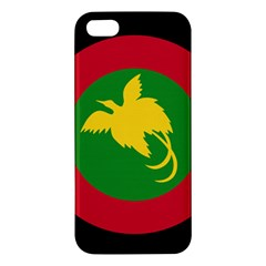 Roundel Of Papua New Guinea Air Operations Element Apple Iphone 5 Premium Hardshell Case