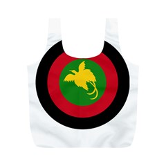Roundel Of Papua New Guinea Air Operations Element Full Print Recycle Bags (m)