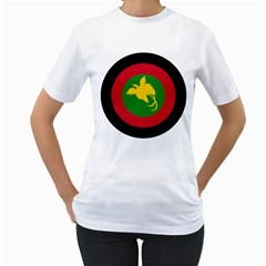 Roundel Of Papua New Guinea Air Operations Element Women s T Shirt (white)