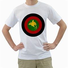 Roundel Of Papua New Guinea Air Operations Element Men s T Shirt (white)