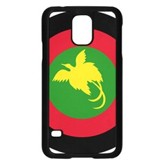 Roundel Of Papua New Guinea Air Operations Element Samsung Galaxy S5 Case (black)