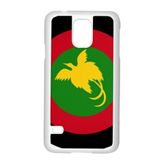 Roundel Of Papua New Guinea Air Operations Element Samsung Galaxy S5 Case (white)