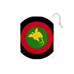 Roundel Of Papua New Guinea Air Operations Element Drawstring Pouches (small)