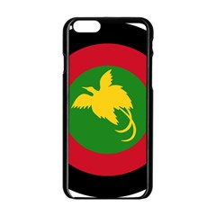 Roundel Of Papua New Guinea Air Operations Element Apple Iphone 6/6s Black Enamel Case
