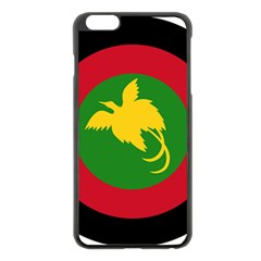 Roundel Of Papua New Guinea Air Operations Element Apple Iphone 6 Plus/6s Plus Black Enamel Case