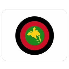 Roundel Of Papua New Guinea Air Operations Element Double Sided Flano Blanket (medium)