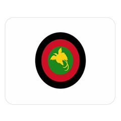 Roundel Of Papua New Guinea Air Operations Element Double Sided Flano Blanket (large)