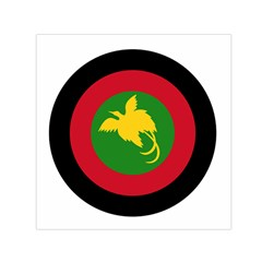 Roundel Of Papua New Guinea Air Operations Element Small Satin Scarf (square)