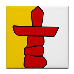 Flag Of Nunavut  Tile Coasters