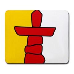 Flag Of Nunavut  Large Mousepads