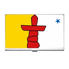 Flag Of Nunavut  Business Card Holders