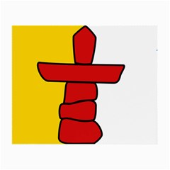 Flag Of Nunavut  Small Glasses Cloth (2 Side)