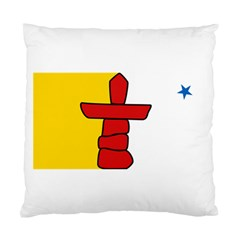 Flag Of Nunavut  Standard Cushion Case (two Sides)