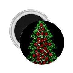 Sparkling Christmas tree 2.25  Magnets