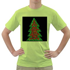 Sparkling Christmas tree Green T-Shirt