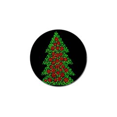 Sparkling Christmas tree Golf Ball Marker (10 pack)