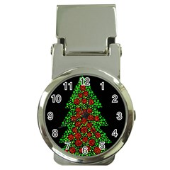 Sparkling Christmas tree Money Clip Watches