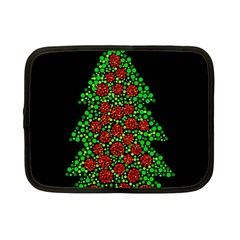 Sparkling Christmas tree Netbook Case (Small)
