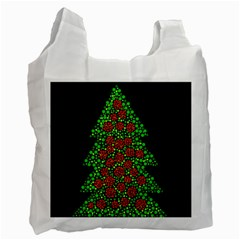 Sparkling Christmas tree Recycle Bag (One Side)