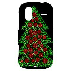 Sparkling Christmas tree HTC Amaze 4G Hardshell Case