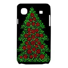 Sparkling Christmas tree Samsung Galaxy SL i9003 Hardshell Case