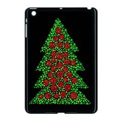 Sparkling Christmas tree Apple iPad Mini Case (Black)