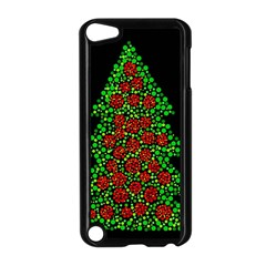 Sparkling Christmas tree Apple iPod Touch 5 Case (Black)