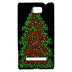 Sparkling Christmas tree HTC 8S Hardshell Case