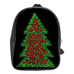 Sparkling Christmas tree School Bags (XL)