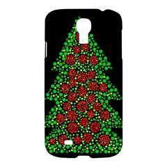 Sparkling Christmas tree Samsung Galaxy S4 I9500/I9505 Hardshell Case