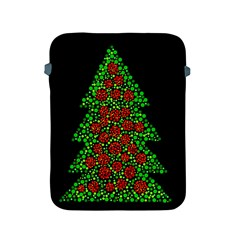 Sparkling Christmas tree Apple iPad 2/3/4 Protective Soft Cases