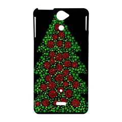 Sparkling Christmas tree Sony Xperia V