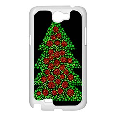 Sparkling Christmas tree Samsung Galaxy Note 2 Case (White)
