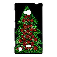 Sparkling Christmas tree Nokia Lumia 720