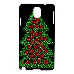 Sparkling Christmas tree Samsung Galaxy Note 3 N9005 Hardshell Case