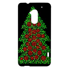 Sparkling Christmas tree HTC One Max (T6) Hardshell Case