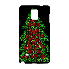 Sparkling Christmas tree Samsung Galaxy Note 4 Hardshell Case