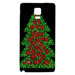 Sparkling Christmas Tree Galaxy Note 4 Back Case