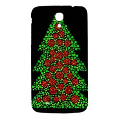 Sparkling Christmas tree Samsung Galaxy Mega I9200 Hardshell Back Case