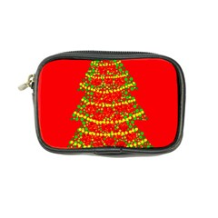 Sparkling Christmas tree - red Coin Purse