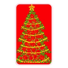Sparkling Christmas tree - red Memory Card Reader
