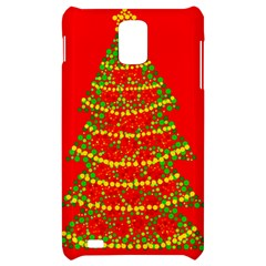 Sparkling Christmas tree - red Samsung Infuse 4G Hardshell Case