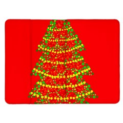 Sparkling Christmas tree - red Kindle Fire (1st Gen) Flip Case