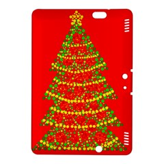 Sparkling Christmas tree - red Kindle Fire HDX 8.9  Hardshell Case