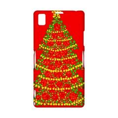 Sparkling Christmas tree - red Sony Xperia Z1
