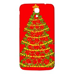 Sparkling Christmas Tree   Red Samsung Galaxy Mega I9200 Hardshell Back Case