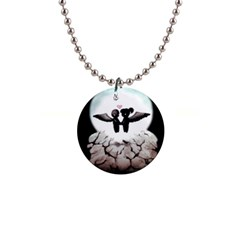 The World Comes Crashing Down Button Necklaces