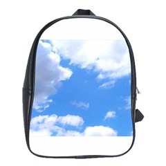 Summer Clouds And Blue Sky School Bags(large)